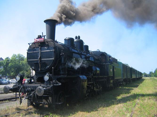 Den v železničním muzeu s Komerční bankou